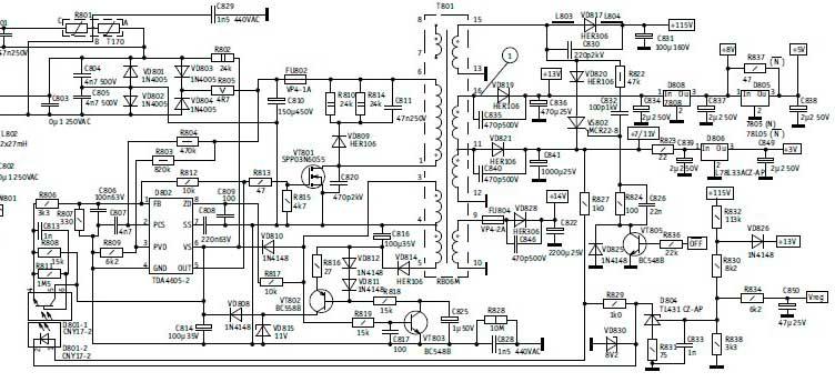 Схема ROLSEN C2131