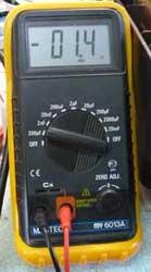 Цифровой измеритель ёмкости Mastech MY6013A