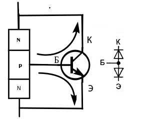 Обратный транзистор