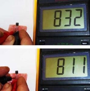 Определение вывода базы транзистора