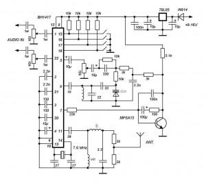 Схема фм модулятора