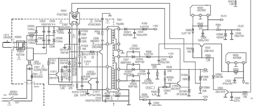 схема - Схемы телевизоров
