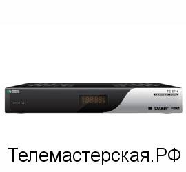 Приставка для приема цифрового телевидения  TE8714