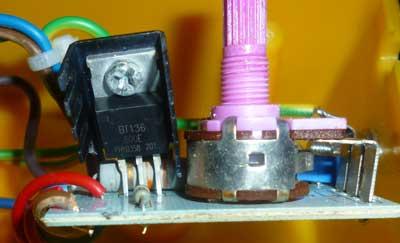Симисторный регулятор  мощности ZD 98