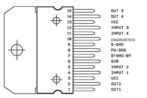 Такая схема включения TDA7377