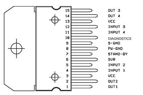 raspinovka tda7377