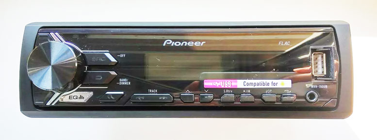 PIONEER MVH-190UB