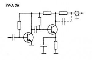 Антенный усилитель SWA36