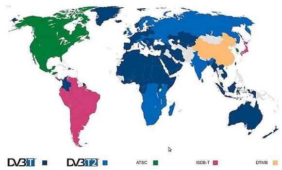 Цифровое ТВ в мире
