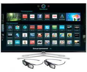 Фото ТВ в режиме Smart TV