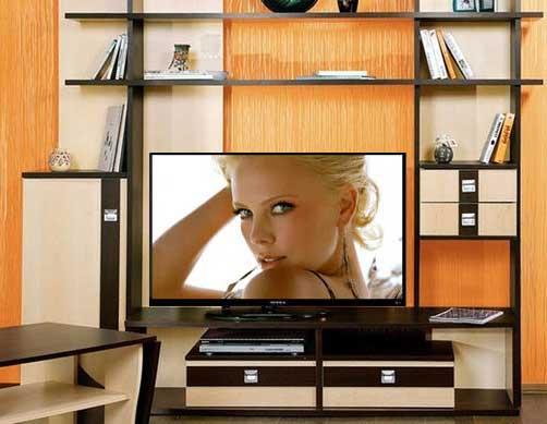 стенка под телевизор фото