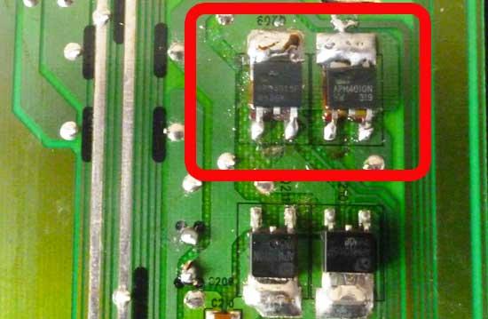Транзисторы apm4015p apm4010n в инверторе
