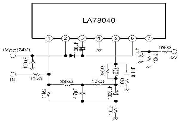 la78040 tip