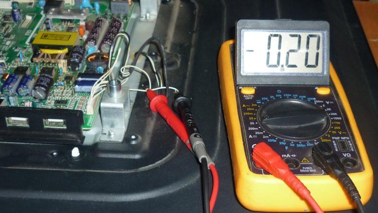 установленный ток 0,2 А
